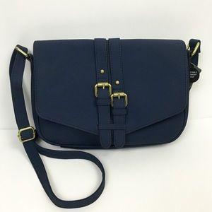 Merona navy blue Crossbody Bag